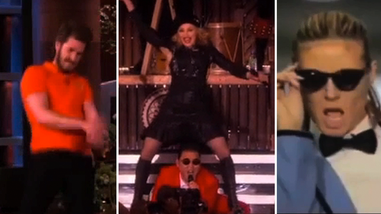 Video: Andrew Garfield, Madonna, and More Go Gangnam Style!