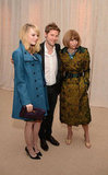 Emma Stone, Christopher Bailey and Anna Wintour were out in NYC for the CFDA/Vogue Fashion Fund Awards.