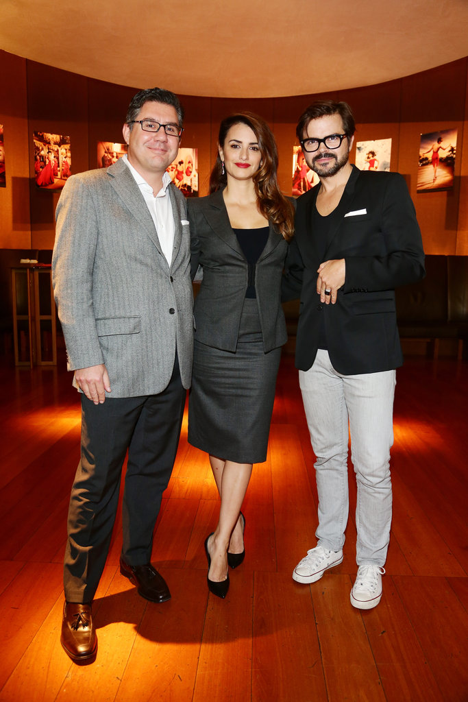 Penélope Celebrates Her Hot Campari Calendar in Milan