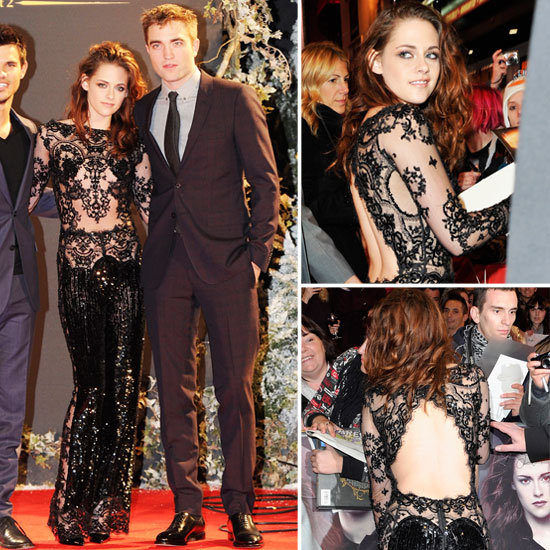 Kristen Stewart Shows Off Even More Skin For London Premiere