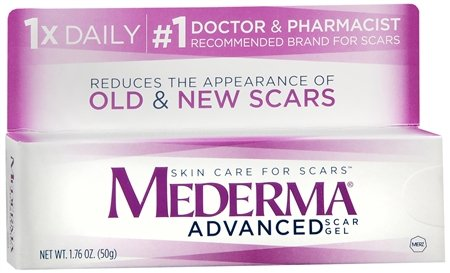 For C-Section Scars: Mederma Advanced Scar Gel