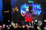Sarah Jessica Parker danced with Minnie Mouse.
