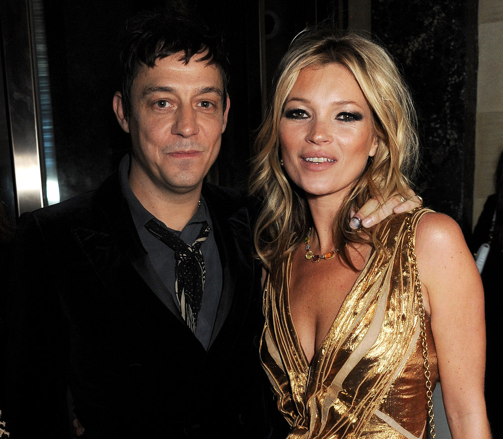 Kate Moss and Jamie Hince celebrated the launch of her book in London.