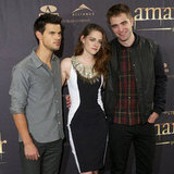 Kristen Stewart and Robert Pattinson in Madrid For Twilight