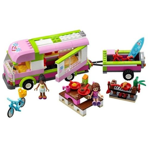 For 5-Year-Olds: Lego Friends Adventure Camper