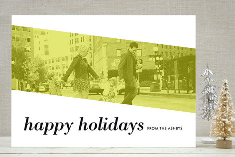 Minted Merry Modern Holiday Photo Cards