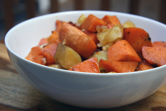 Maple-Roasted Sweet Potatoes and Yams