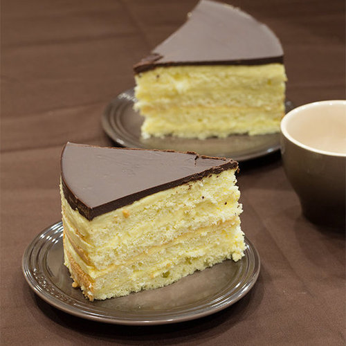 The Best Thanksgiving Dessert, Boston Cream Pie