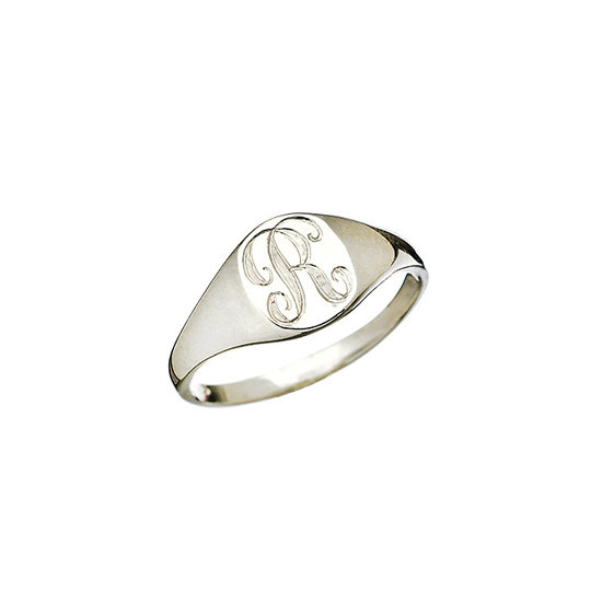 Signet ring, approx. $165, Ariel Gordon at Max & Chloe