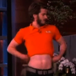 Andrew Garfield Dancing on Ellen (Video)