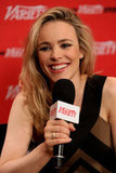 Rachel McAdams chatted with Variety during a casual sit down at the September 2012 Toronto Film Festival.