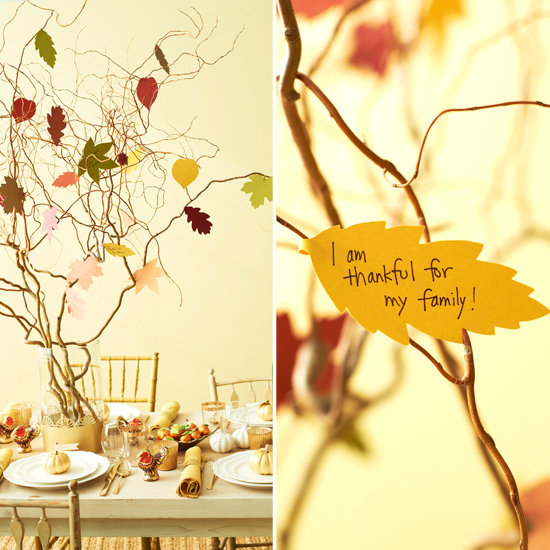 Create a &quot;Thankful Tree&quot;