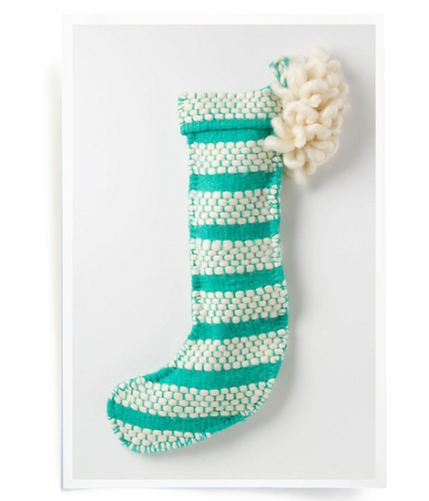 Loomed Stocking