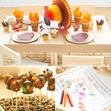 How to Have the Cutest Kids Table This Thanksgiving