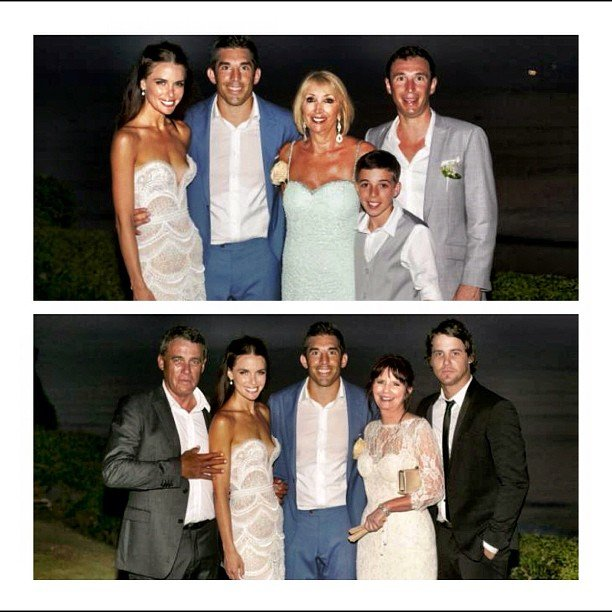 Jodi Gordon shared sweet family photos from her and Braith Anasta
