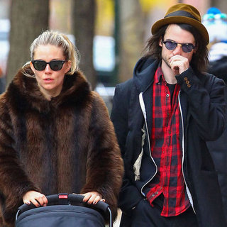 Sienna Miller and Tom Sturridge Walk in NYC With Marlowe