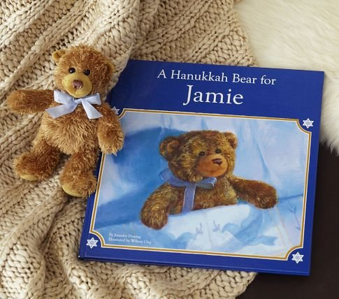 Pottery Barn Kids A Hanukkah Bear Personalized Book