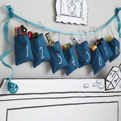 The Land of Nod Hanukkah Countdown Goodie Bags