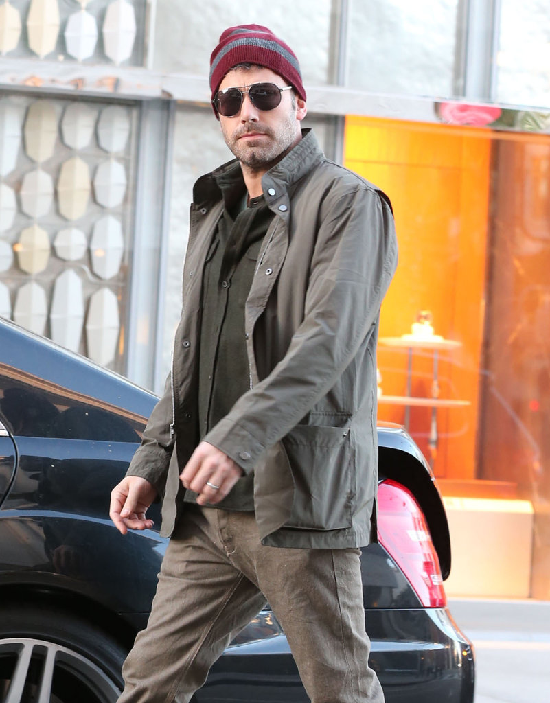 Ben Affleck put on a hat and sunglasses to run errands.