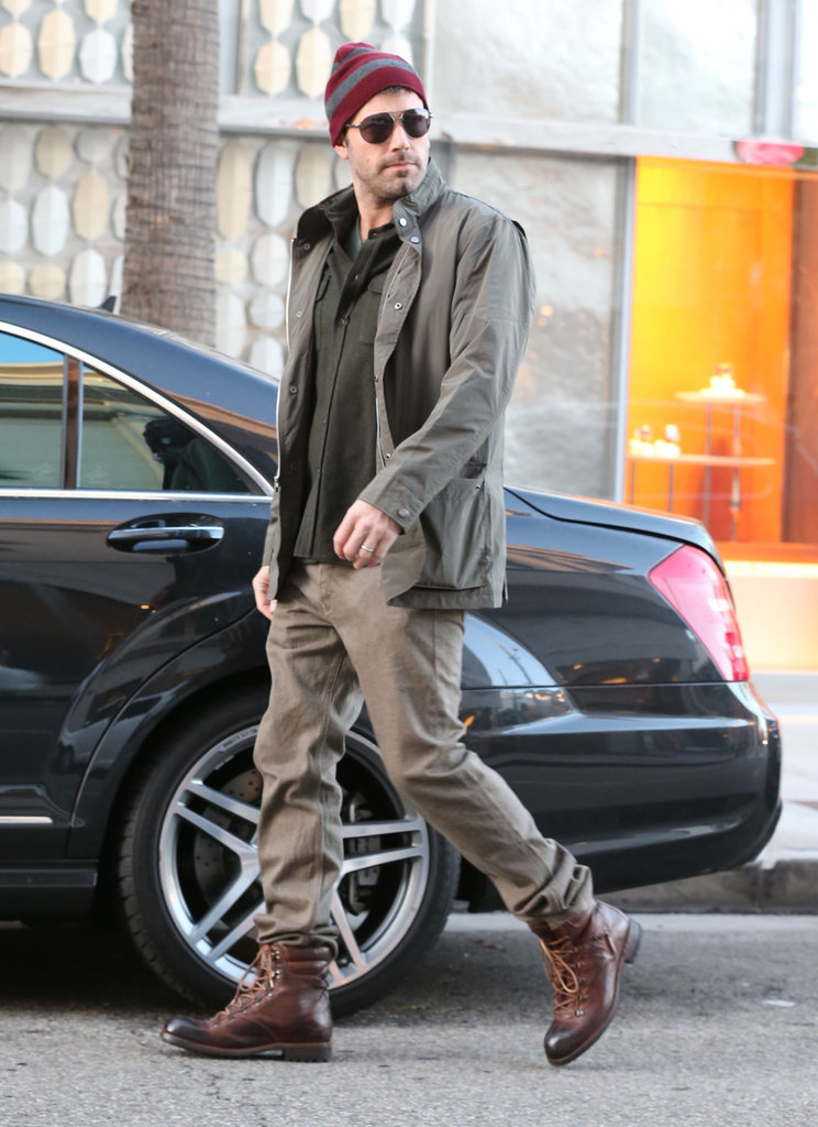 Ben Affleck made it back to his car after running errands in Beverly Hills.