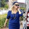 Reese Witherspoon Fills Up Her Land Rover | Pictures