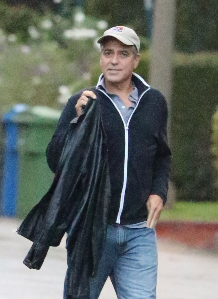 George Clooney Settles In For a Stay in LA as Stacy Keibler Hits the AMAs