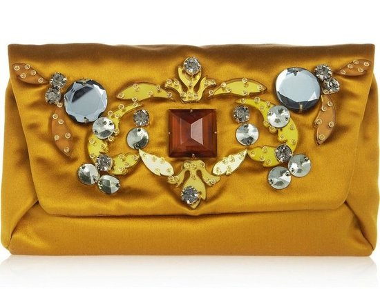 An Embellished Clutch