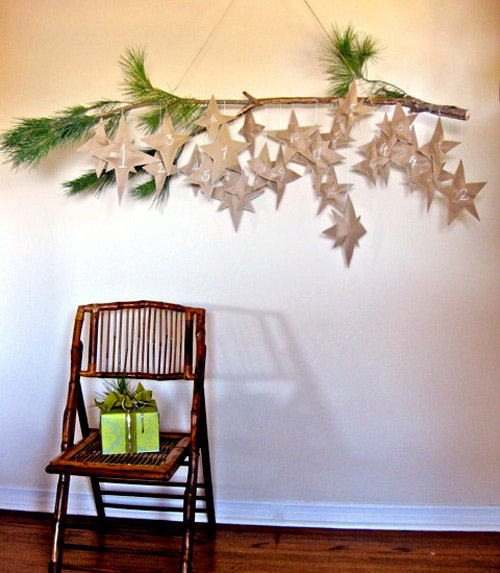 DIY: Design Sponge's Falling Stars Advent Calendar