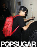 Justin Bieber had dinner in LA.