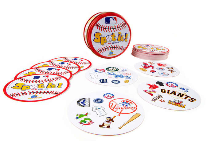 For 7-Year-Olds: Spot It! MLB