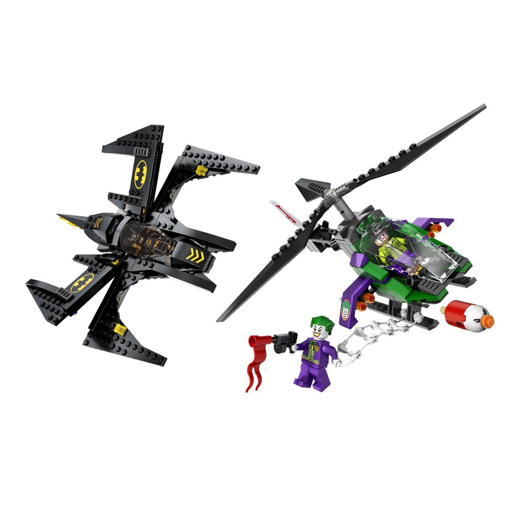 For 8-Year-Olds: Lego Superheroes Batwing Battle Over Gotham City