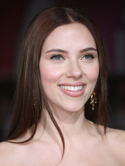 Scarlett showed off a darker hair color at the premiere of He's Just Not That Into You in 2009.