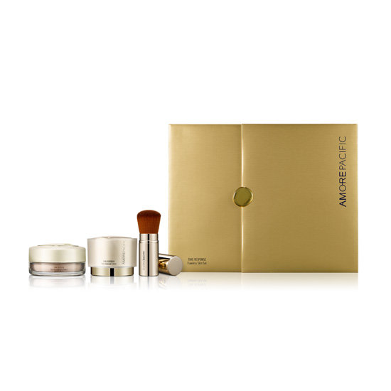 Just in time for holiday photos, you can score a camera-ready complexion with AmorePacific's Time Response Flawless Skin Set ($450). It comes with the Time Response Skin Renewal Creme, which transforms your skin's smoothness and tone and adds a healthy glow. There's also a translucent powder for a radiant finish.