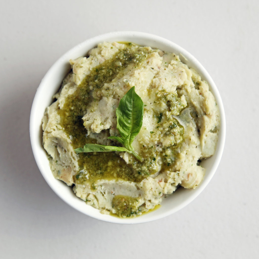 Pesto Mashed Potatoes