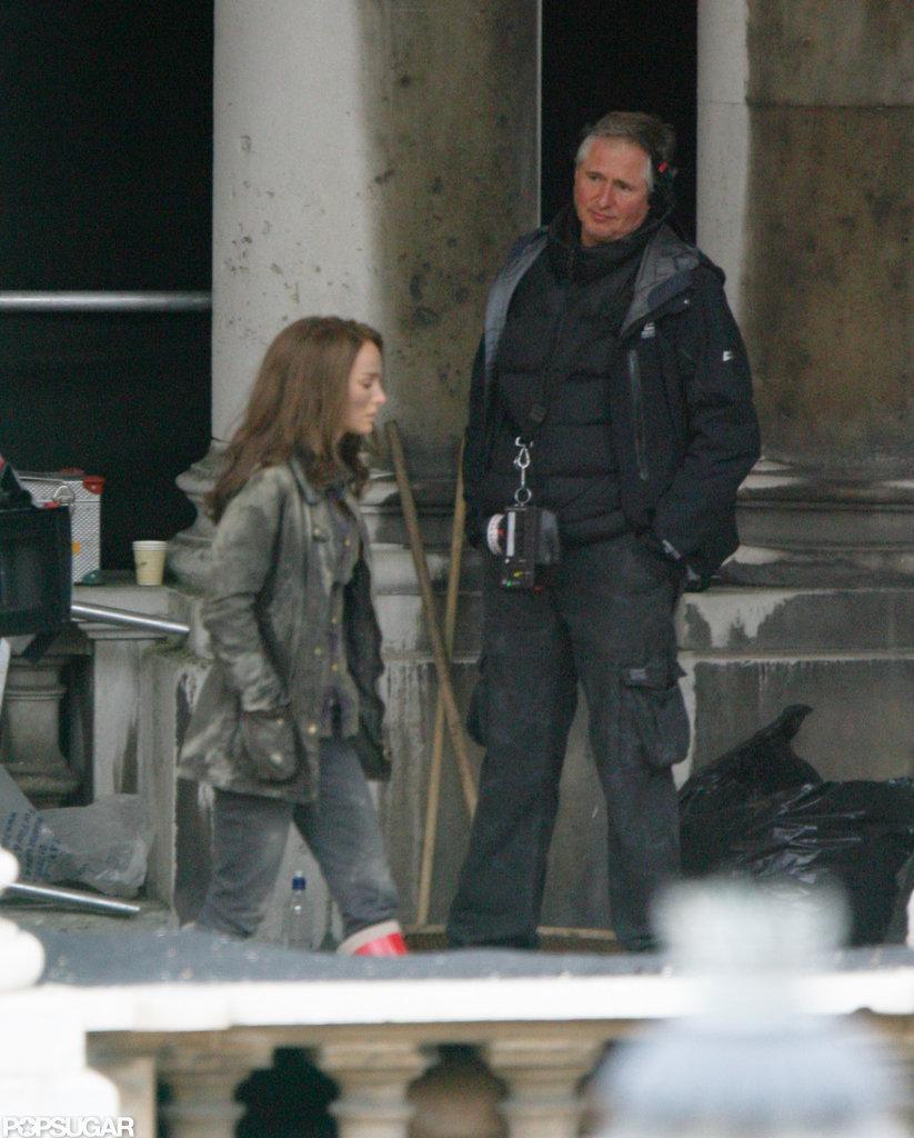 Natalie Portman filmed Thor: The Dark World in London.