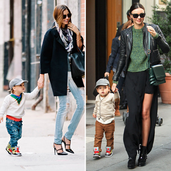 Miranda Steps Out in Style With Flynn by Her Side