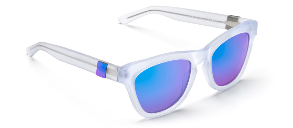 I've officially fallen for these Westward N9.2 Color Revolution  sunglasses ($165). After seeing mirrored shades all over Fashion Week I'm finally completely convinced of their cool factor. — Hannah Weil, associate editor