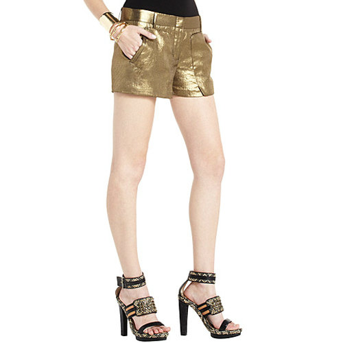 These matching BCBG Max Azria Bruna Patch-Pocket Shorts ($64, originally $128) for a stunning holiday statement.