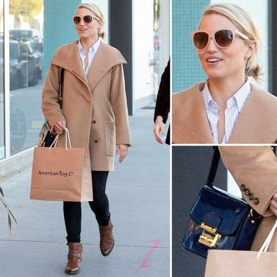 Channel Dianna Agron's street cool (hint: it's all about those awesome shades).