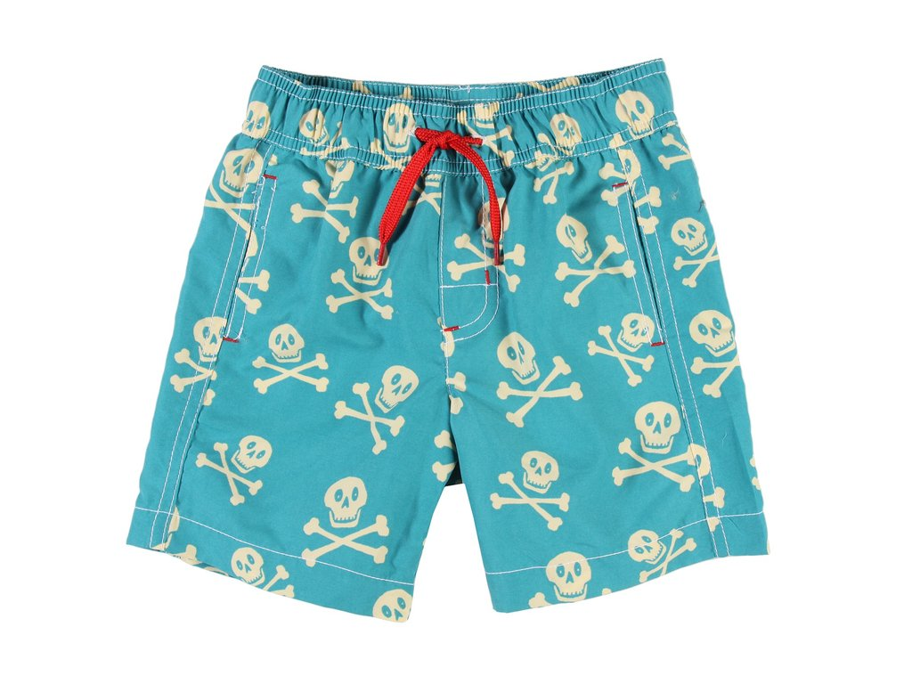 Hatley Kids Skull Swim Trunks