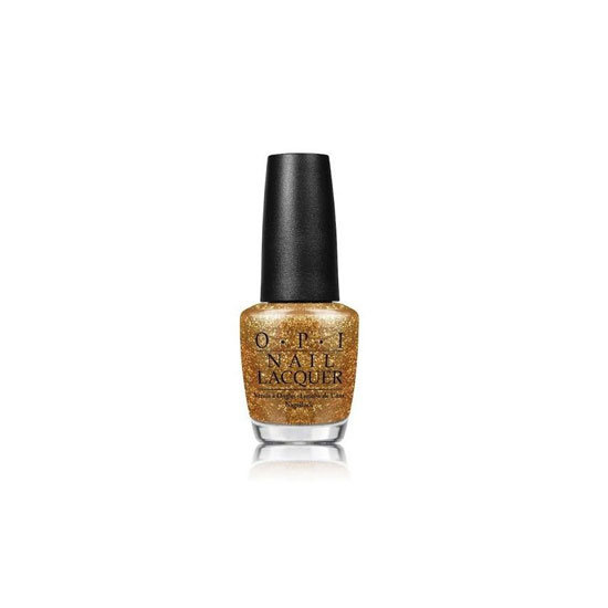 OPI Nail Lacquer in Golden Eye, $19.95