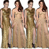 Gold Nail Polish to Match Kristen Stewart&#039;s Gold Dresses