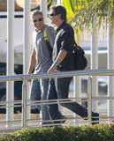 George Clooney and Rande Gerber squeezed in quality time while on their November Cabo trip in 2012.