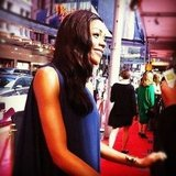PopSugar editor Jess got up close and personal to Bond girl Naomie Harris at Skyfall's Sydney premiere. Super pretty, super nice. Sigh.