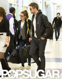 Robert Pattinson and Kristen Stewart Say Bye to the UK, Hello to NYC