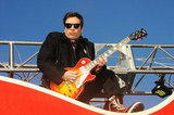 Jimmy Fallon released his inner rock god at the 86th Annual Macy's Thanksgiving Day Parade.