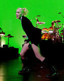 Gwen Stefani showed some spunk on stage.