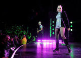 Gwen Stefani took the stage for a No Doubt concert in Universal City.
