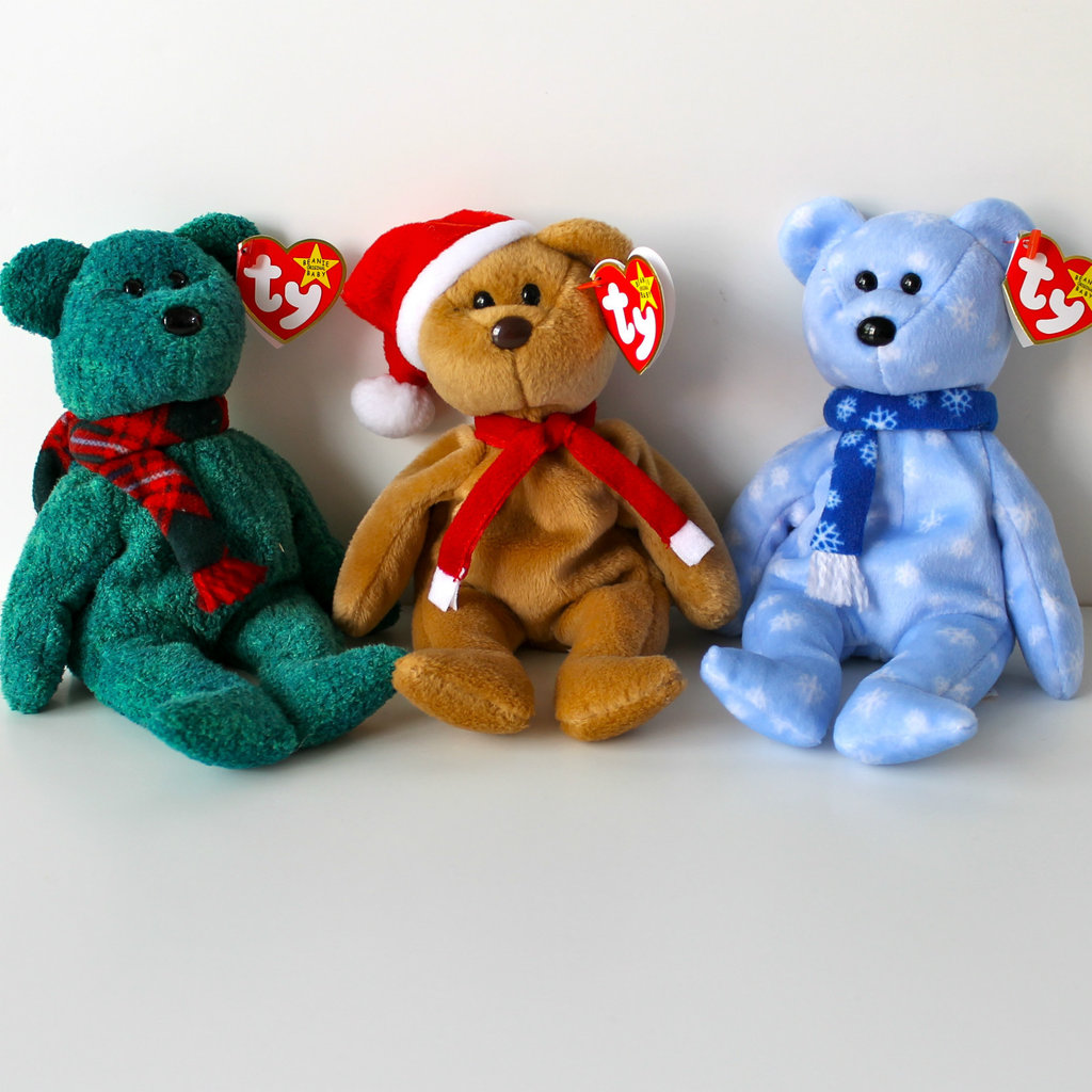 Holiday Beanie Babies Bears