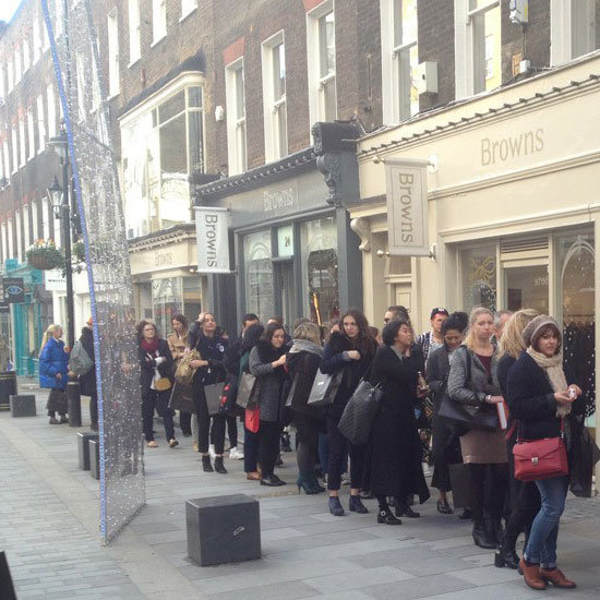 We'd Queue, Too! See Grace Coddington's London Book Signing